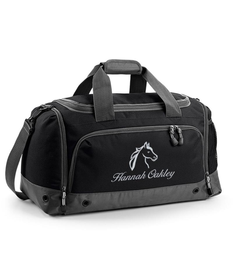 Personalised Horse Riding Holdall Bag Withcongratulations