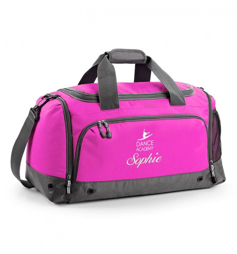Dance Academy Hot Pink Holdall Withcongratulations