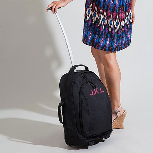 Personalised Embroidered Cabin Hand Luggage Bag