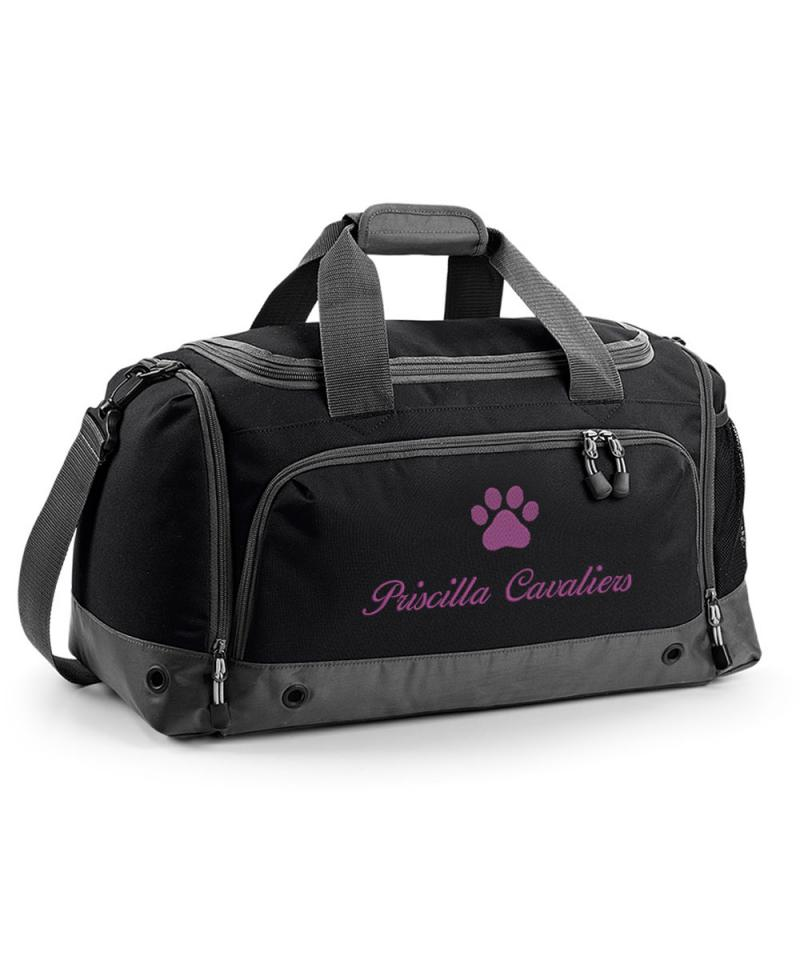 Personalised Dog Cat Grooming Holdall Bag Pet Show