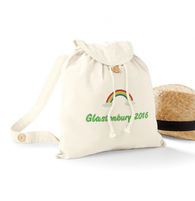 Personalised Hippie Festival Bag Withcongratulations