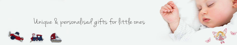 personalised baby clothing, christening gifts