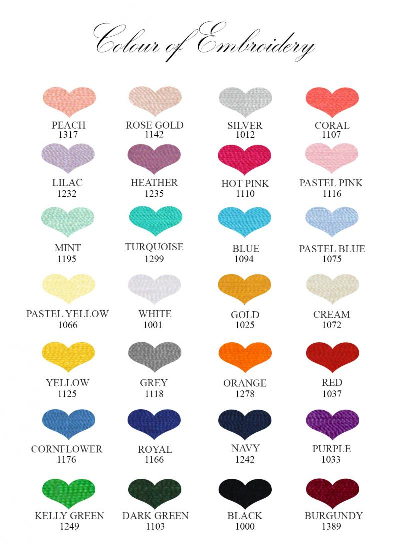 Wedding Anniversary Gifts By Year Chart: Personalised Cotton 2nd Wedding Anniversary Gift For The