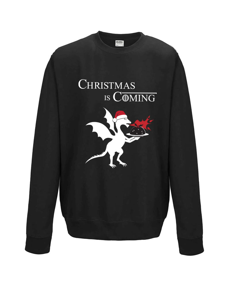 Christmas is coming sweatshirt game of thrones fan gift for Christmas gifts for game of thrones fans