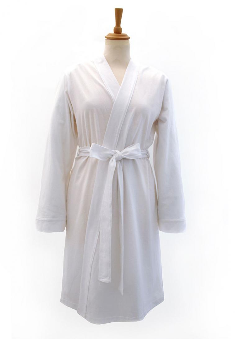 Fully Personalised White Jersey Wedding Dressing Gown