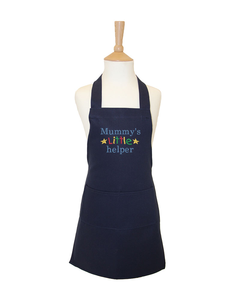 Embroidered Children S Quot Mummy S Little Helper Quot Apron