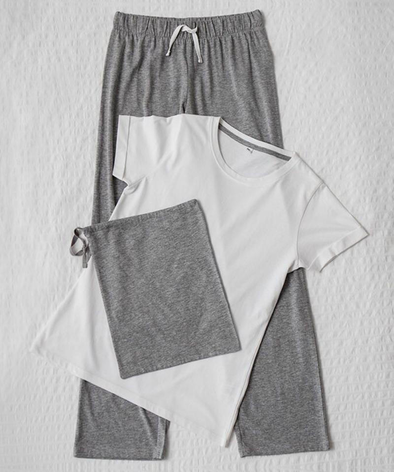 Personalised Wedding Long Pyjama Set Withcongratulations