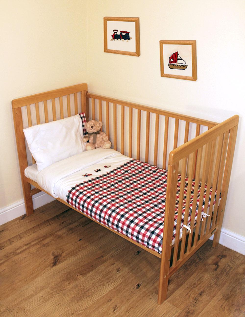 Red Amp Navy Junior Toddler Cot Bed Bedding Set Boat