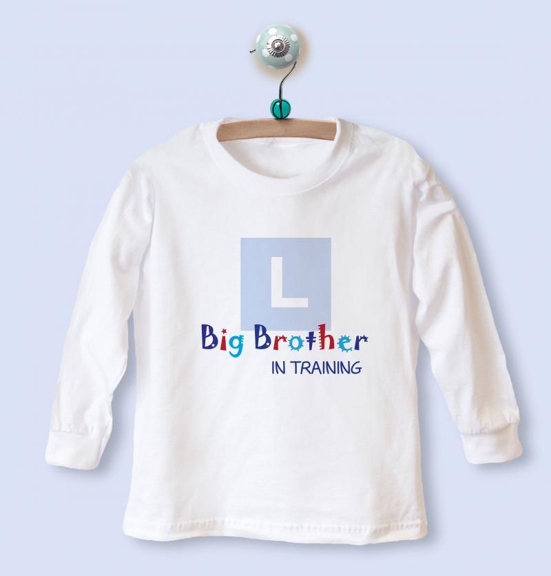 Big Brother In Training Dog Shirt