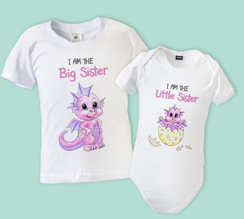 Little Sister and Big Sister outfits sold separately, you may need add Nursery Decals and More Sibling Shirt Set For Sisters and Brothers, Includes Im The Big Sister With Owl Newborn Baby Girls Romper Tops White Shirt Sisters Outfits Clothes Set- Ma&Baby. by Ma&Baby. $ - $ $ 3 $ 3 4 out of 5 stars