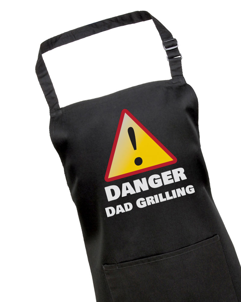 Danger Dad Grilling Bbq Apron Withcongratulations