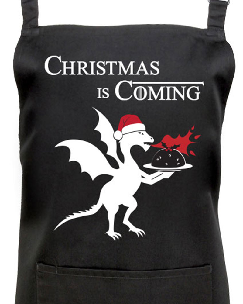 Christmas Is Coming Apron Fan Of Game Of Thrones Withcongratulations