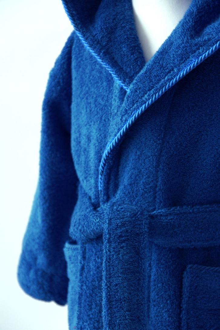 Personalised Childrens Dressing Gowns Dark Blue 2 15ys