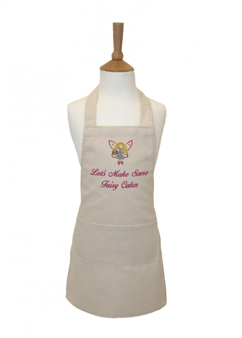 Let S Make Some Fairy Cakes Kid S Apron