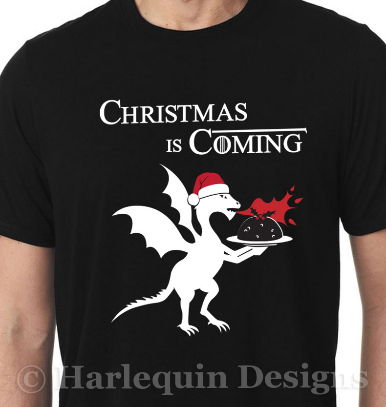 Christmas Is Coming T Shirt Fan Of Game Of Thrones