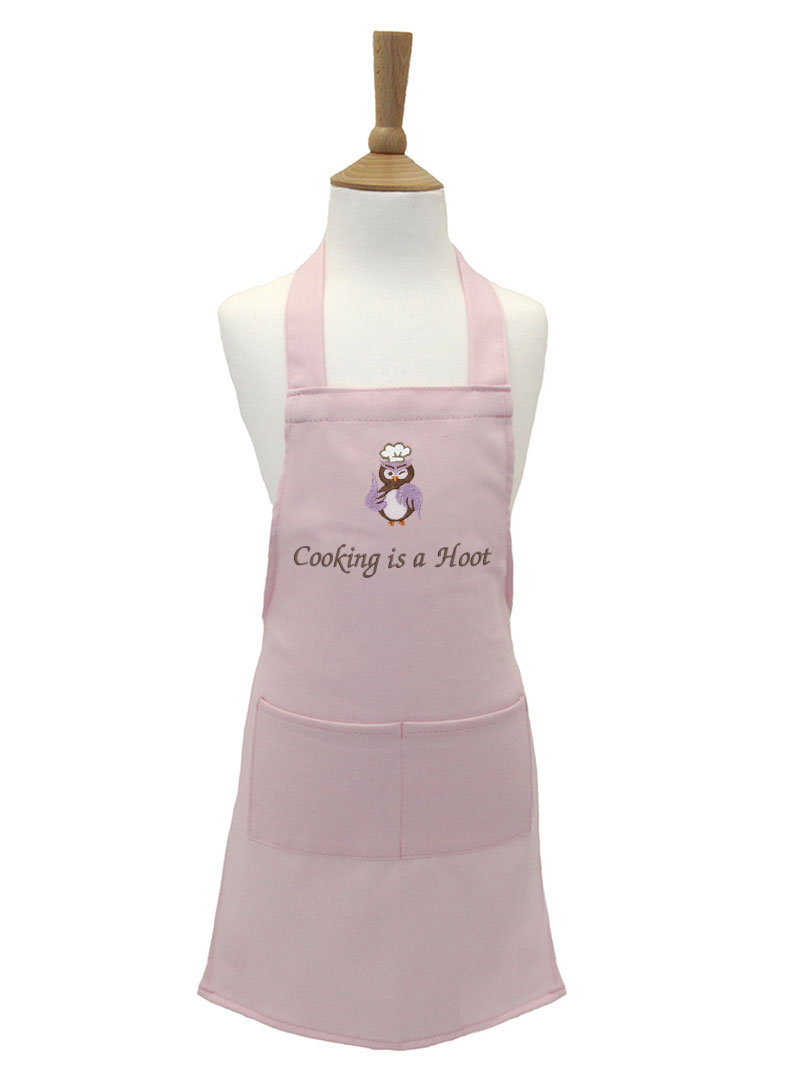 Cooking Is A Hoot Kid S Apron Withcongratulations