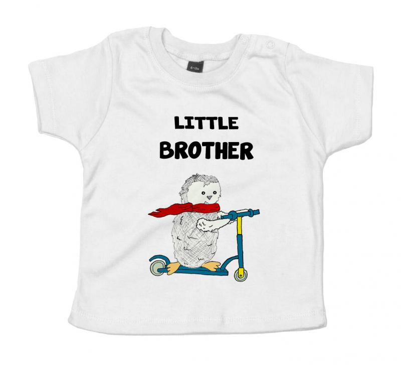 Big Middle Little Brother Sister Matching T Shirts