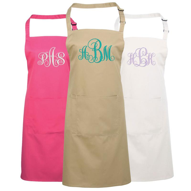 Personalised Monogrammed Apron Withcongratulations