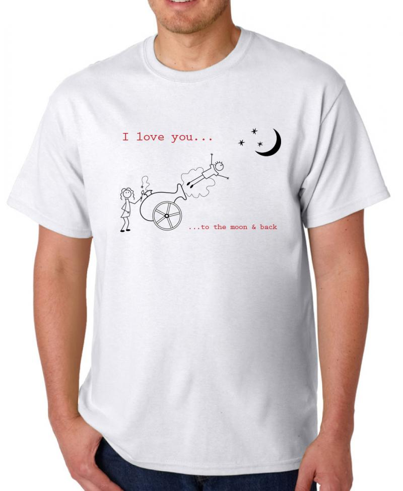 I Love You To The Moon And Back T-Shirts from Spreadshirt Unique designs Easy 30 day return policy Shop I Love You To The Moon And Back T-Shirts now! Mom I Love You To The Moon And Back. by. ilovemytee. I Love You To The Moon & Back. by.