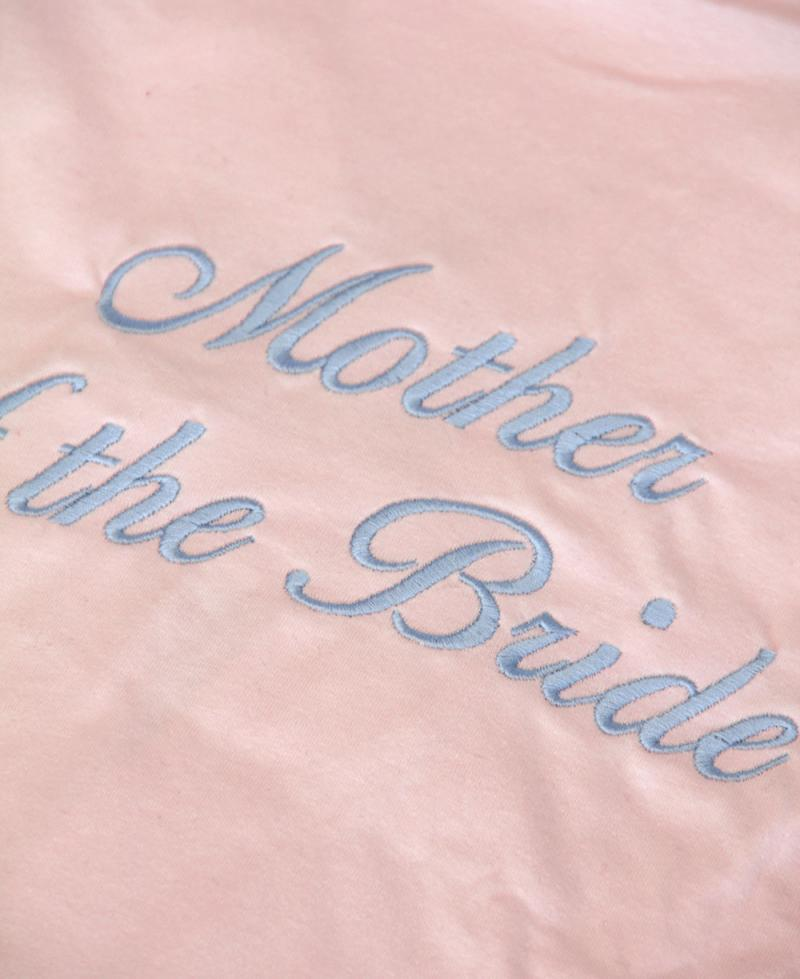 Personalised Bridesmaid / Bridal Party Pink Dressing Gown ...