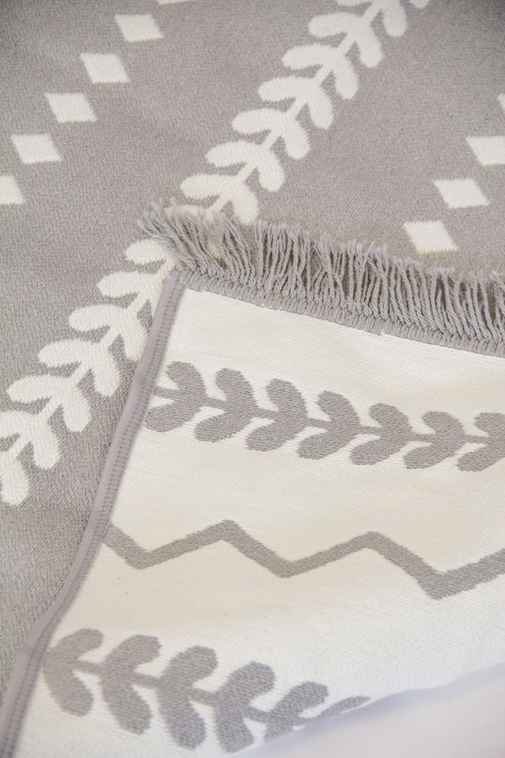 Grey Nursery Rug For Baby Boy Or Baby Girl Nursery Room