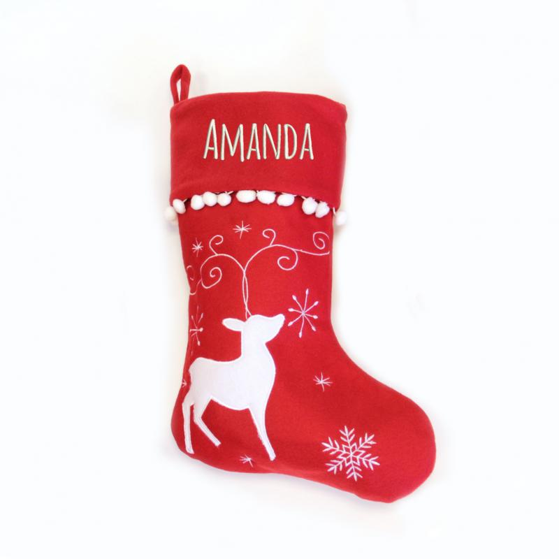 Personalized Dog Christmas Stockings