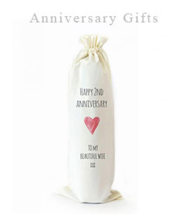 2nd anniversary cotton gifts
