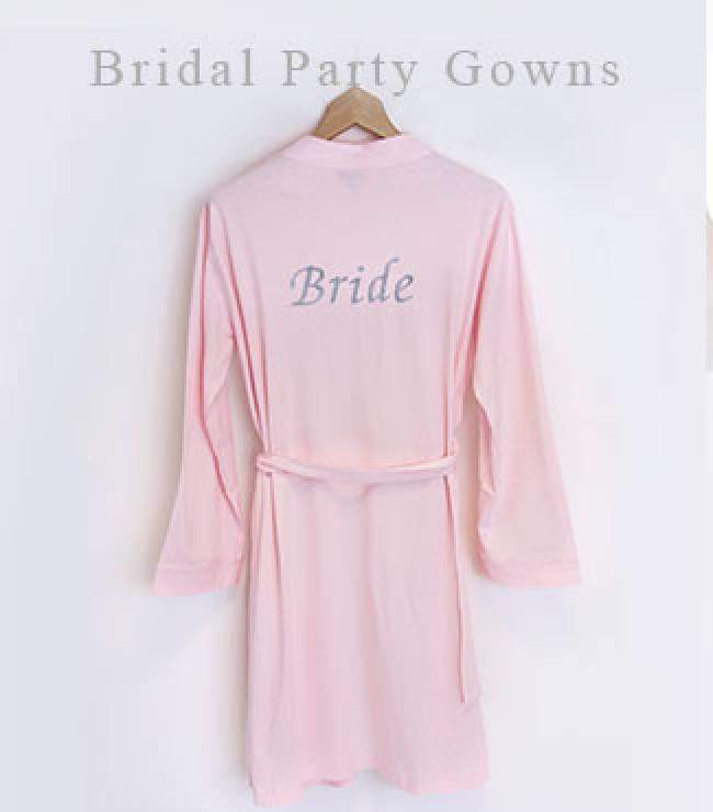 bridesmaids dressing gowns