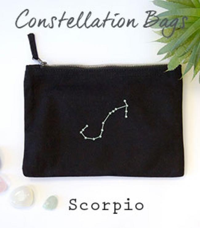 Constellation Zodiac Star Sign Gift Bag