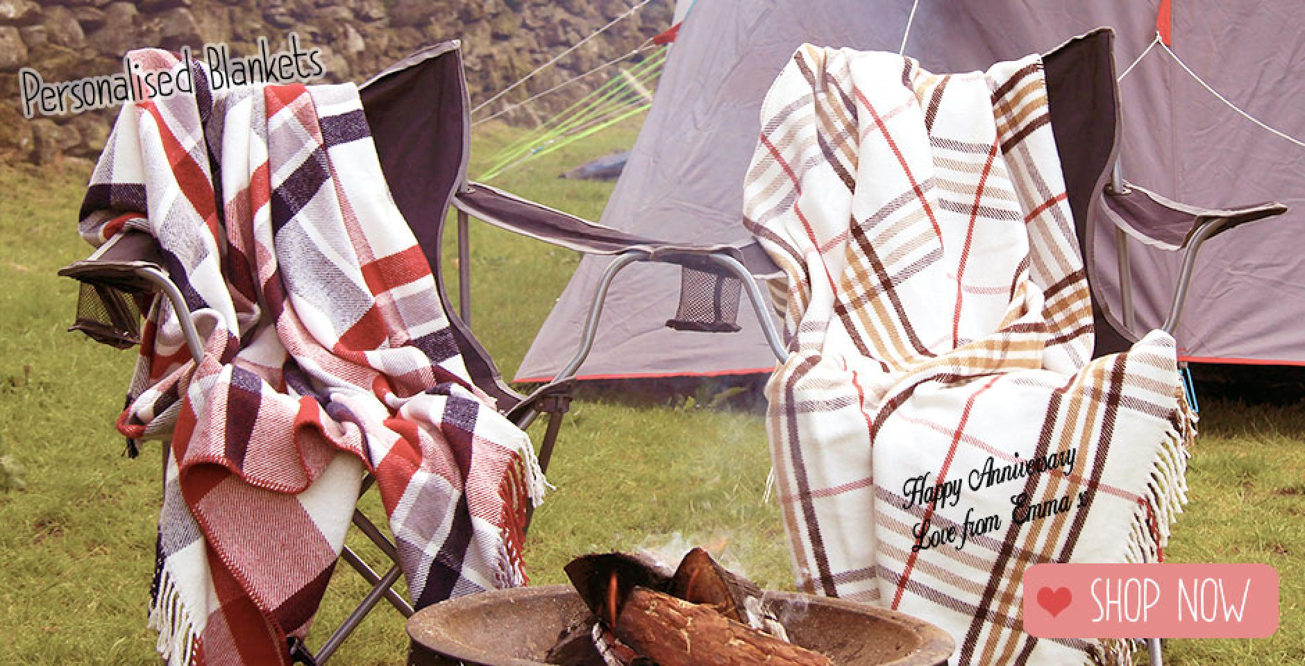 2nd anniversary cotton, camping blanket uk