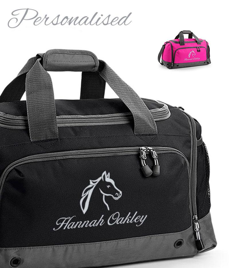 Personalised Horse Riding Grooming Holdall