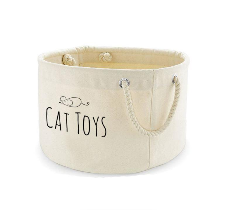 cat toys basket