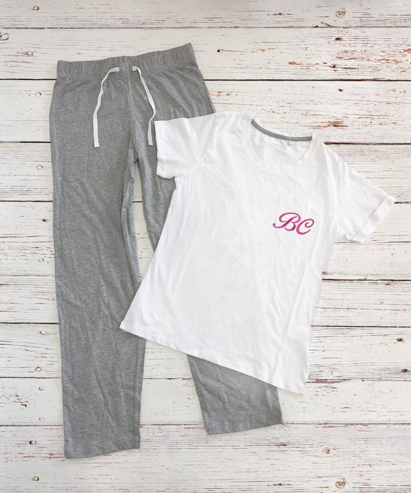 Monogrammed Pyjamas