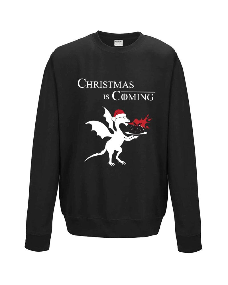 Christmas is Coming Sweatshirt, Game of Thrones Fan Gift Idea