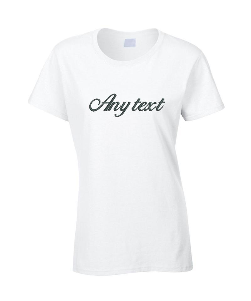 Personalised Wedding T-Shirt