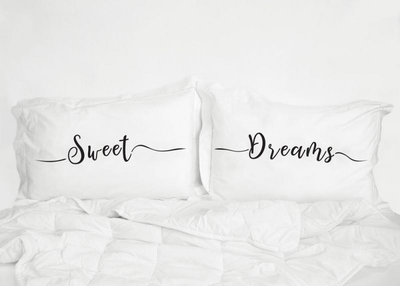 Sweet Dreams Pillowcases UK