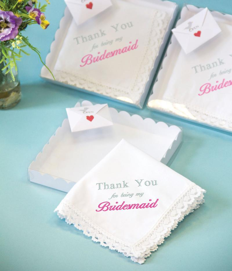 bridesmaids handkerchiefs