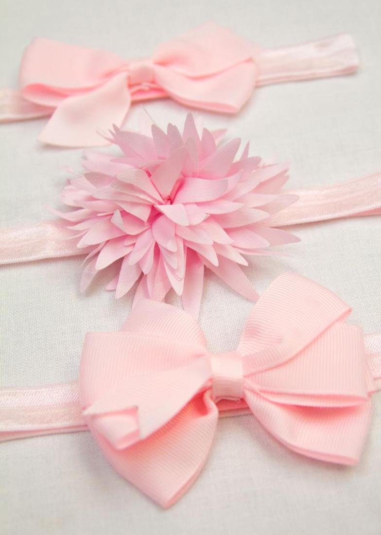 bow baby headband