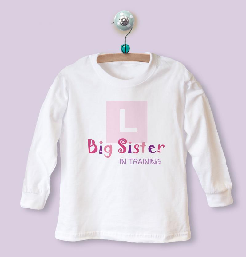 big sister in training top