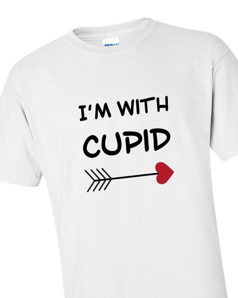 'I'm With Cupid' T-shirt