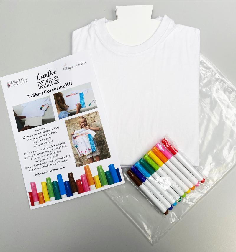 T-Shirt Colouring Kit
