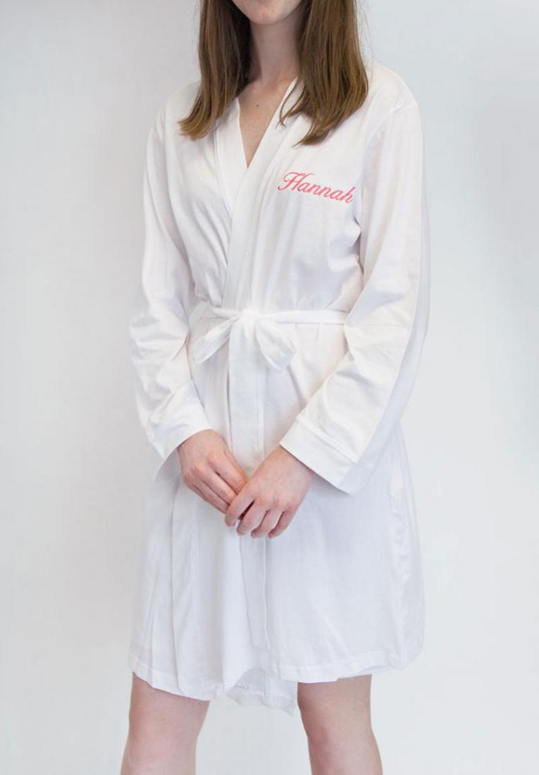 personalised wedding dressing gowns