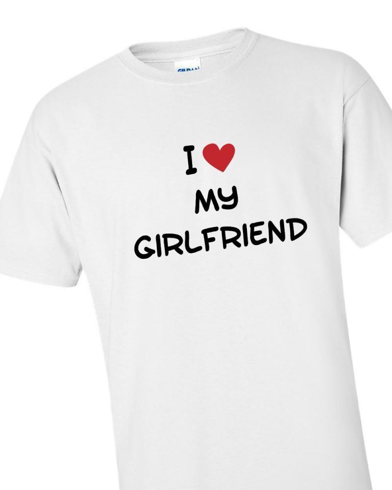 'I Love My Girlfriend' T-shirt