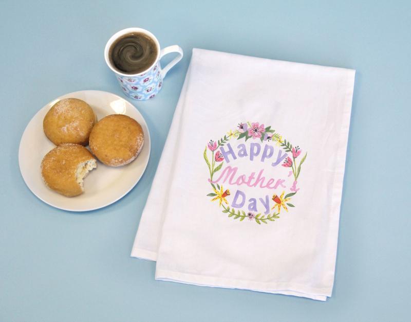 Happy Mother's Day Kitchen Tea Towel