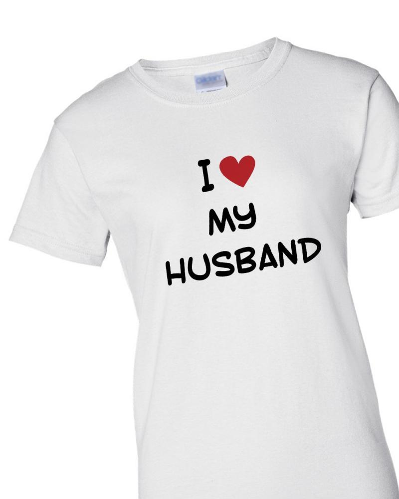 'I Love My Husband' T-shirt