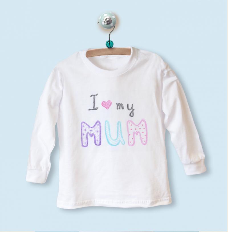 i love you mummy baby clothing