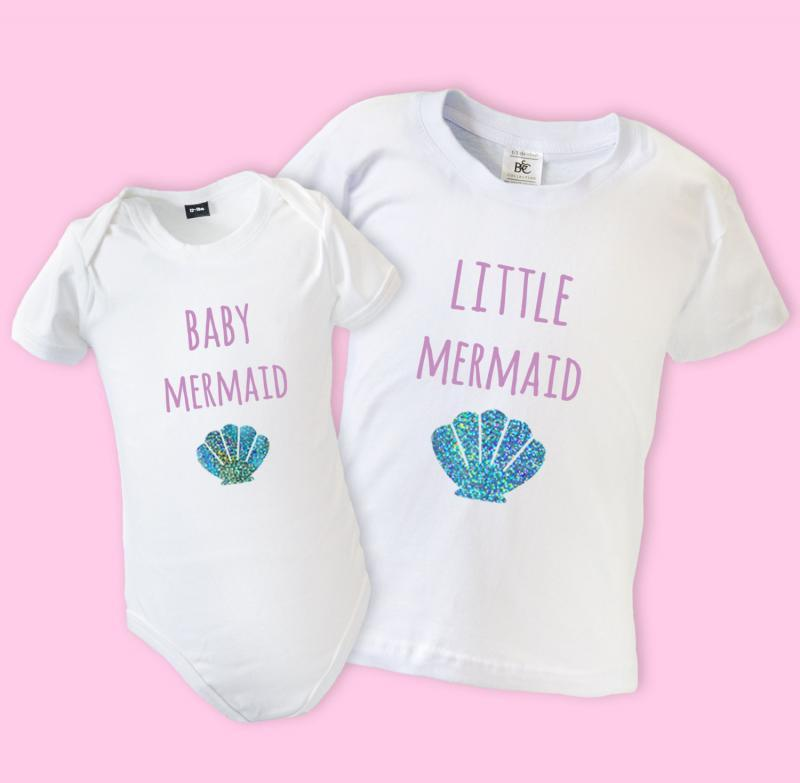 big sister little sister mermaid