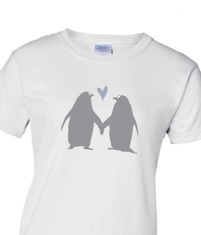 Printed Penguin T-shirt for her
