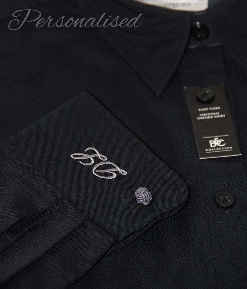 Personalised Monogrammed Black Blouse