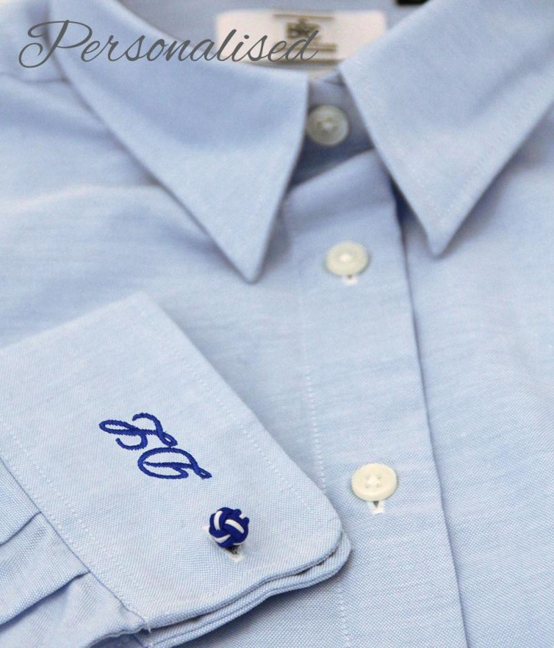 Personalised Monogrammed Blue Blouse